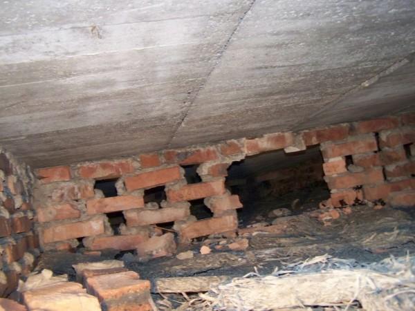 stropodach cegły