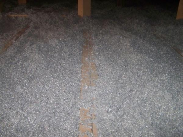 podłoga na strychu legar