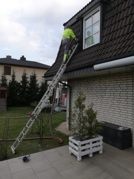 skosy na dachu