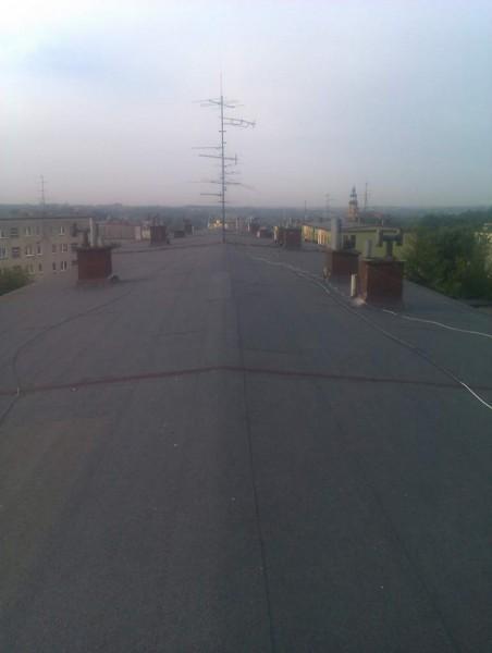 ocieplenie bloków dach