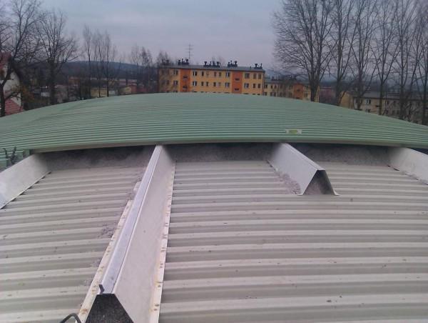 budowa dachu nowego