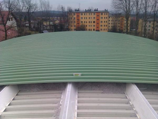 kładzenie dachu i opcielanie