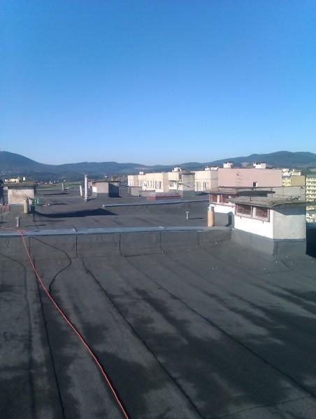 dach bloku
